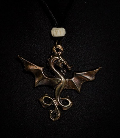 The Littlest Dragon Pendant