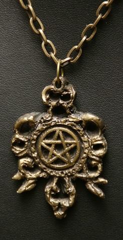 Gothic Pentagram Pendant