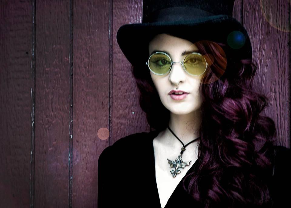 Bronze Dragon Pendant Model: Hannah Johnson Photographer: Margo Elfstrom